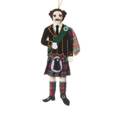 Prince Albert in Scottish dress decoration