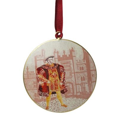 Illustrated Henry VIII at Hampton Court Palace decoupage decoration