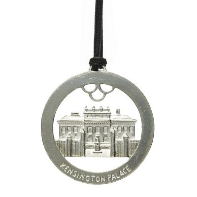 Kensington Palace pewter disc decoration