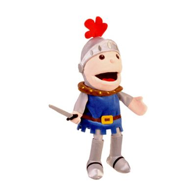 St George the Knight moving mouth hand puppet
