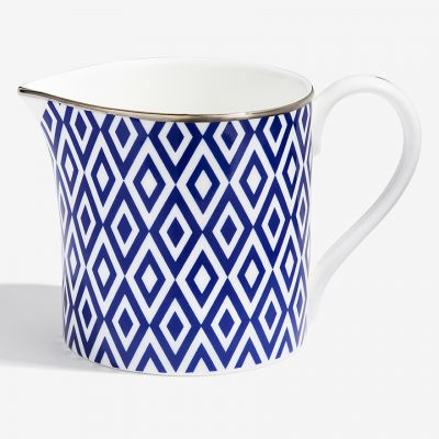 The Aragon Collection midnight blue fine bone china creamer jug