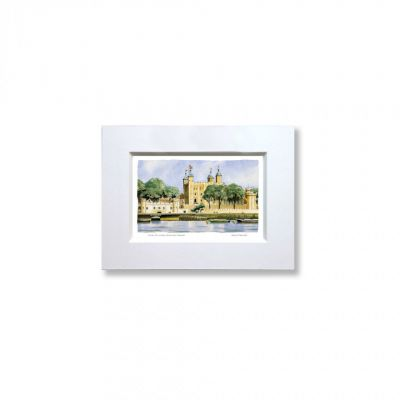 Tower of London mounted print