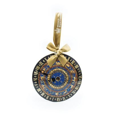 Metal astronomical clock decoration