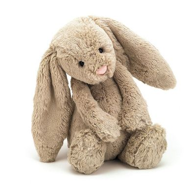 Bashful beige bunny soft toy