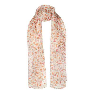 Berries silk scarf