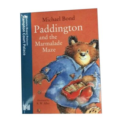 Harpercollins Paddington and the marmalade maze at Hampton Court Palace