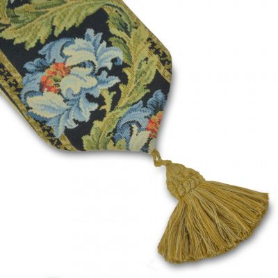 William Morris tapestry bell pull