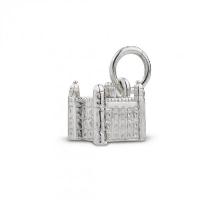 Silver Tower of London charm