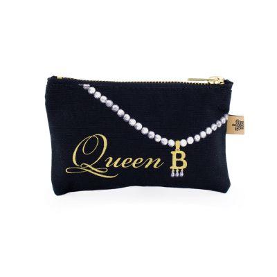Luxury Anne Boleyn Queen B coin purse
