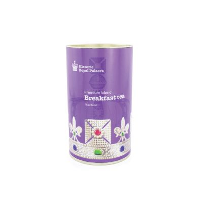 Crown of India English Breakfast Tea Tin
