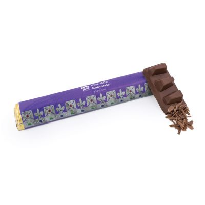 Luxury milk chocolate bar - Crown Jewels chocolate gifts