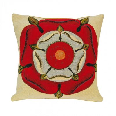 Flemish Tapestries Tudor Rose cushion