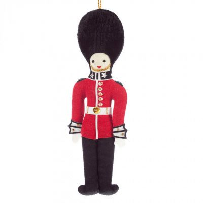 St Nicolas Guardsman tree decoration