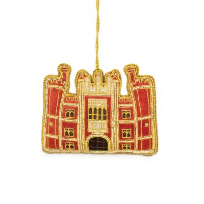 Hampton Court Palace luxury embroidered hanging decoration