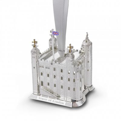 3-D Tower of London Christmas decoration