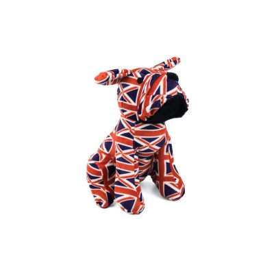 Union Jack home accessories - British bulldog doorstop