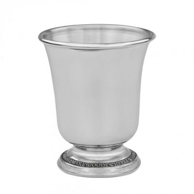 Pewter wine fountain drinking cup