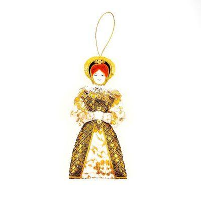 St Nicolas Elizabeth I tree decoration