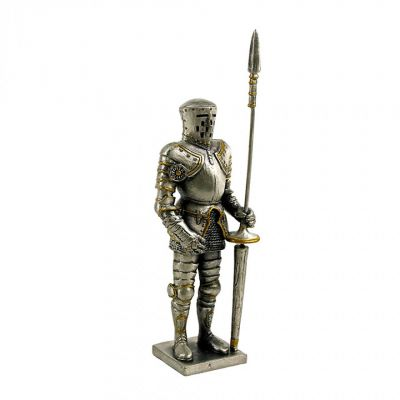 Ancestors of Dover Jousting knight figure