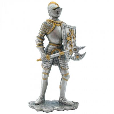 Ancestors of Dover Knight with battleaxe figure