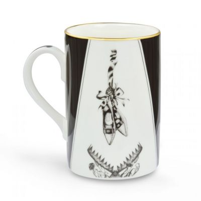 'Beware of the Wear Trap' - Lauren Dickinson Clarke Victoriana fine bone china mug