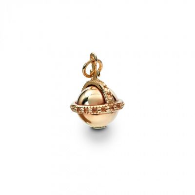 Crown Jewels 9ct gold orb charm