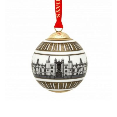 Halcyon Days Hampton Court Palace ceramic christmas tree decoration