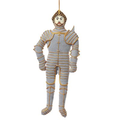 Henry VIII knight in shining armour hanging decoration