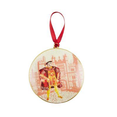 Illustrated Henry VIII at Hampton Court Palace decoupage decoration