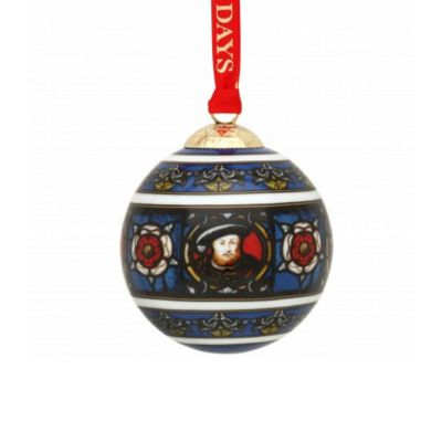 Halyon Days Henry VIII ceramic christmas tree decoration
