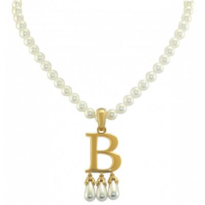 Crowns Regalia Anne Boleyn initial necklace