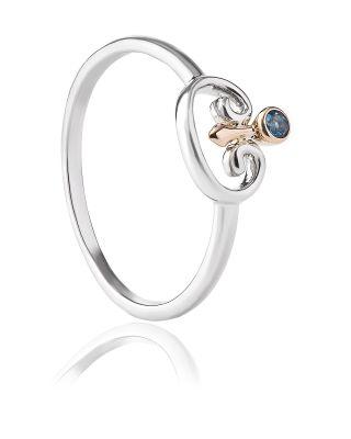 Clogau Kensington London Blue Topaz Band Ring