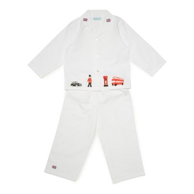 Embroidered London Children's Pyjamas