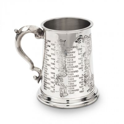 Kings and Queens pewter tankard (Tower of London)