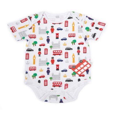 Little London baby cotton vest