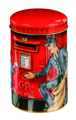 Redpostbox toffee tin