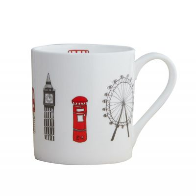 London skyline fine bone china mug