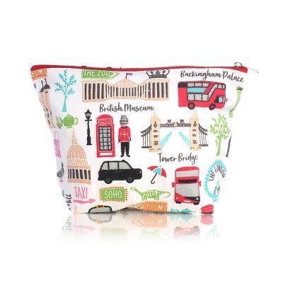 London adventures cosmetic bag