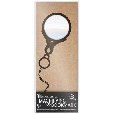 Magnifying Victorian eyeglass bookmark