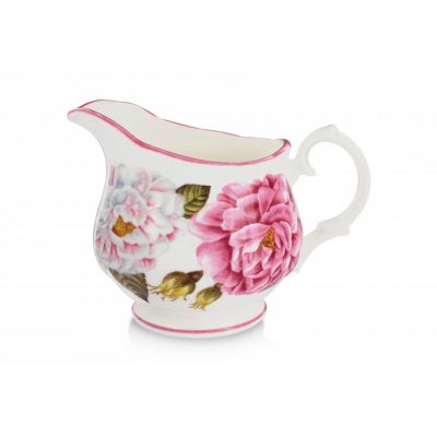royal palace rose fine bone china milk jug