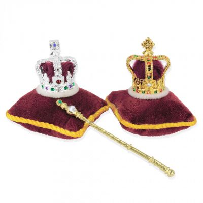 Crowns Regalia The souvenir collection - The British souvenir Crown set