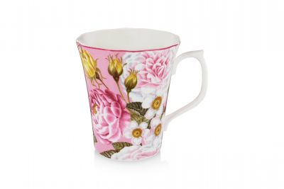 royal palace rose fine bone china mug