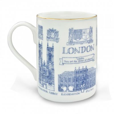 Fine bone china London coffee mug