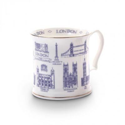London landmarks mug