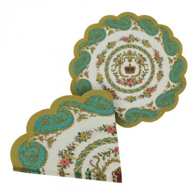 Royal Palace tea paper napkins