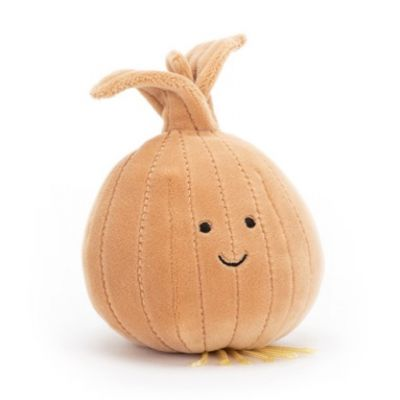 Smiling Onion soft toy vegetable