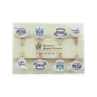 Royal Palace China mini pegs (set of 8)