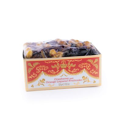 Royal Palace Crest Cranberry and Cointeau Fruit Cake