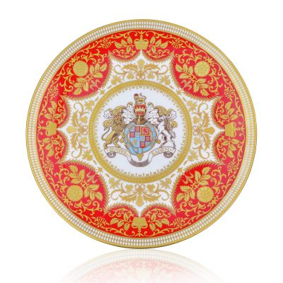 Royal Palace Crest 21cm Fine Bone China Plate