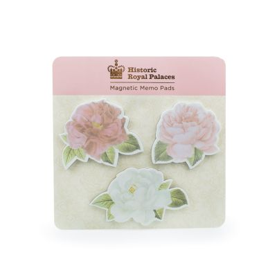 Royal Palace Rose magnetic memo pads